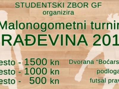 """Počele prijave za malonogometni turnir """"Građevina 2014″"""